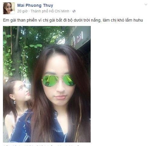 Facebook sao Việt: Khánh Thi tâm sự với con trai đầy tình cảm 3