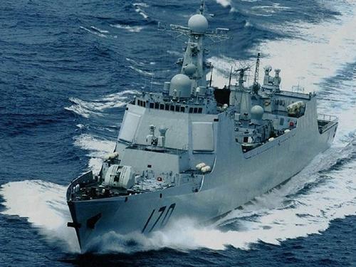 Trung Quốc điều hai tàu tên lửa để đối phó Mỹ ở Biển Đông 3