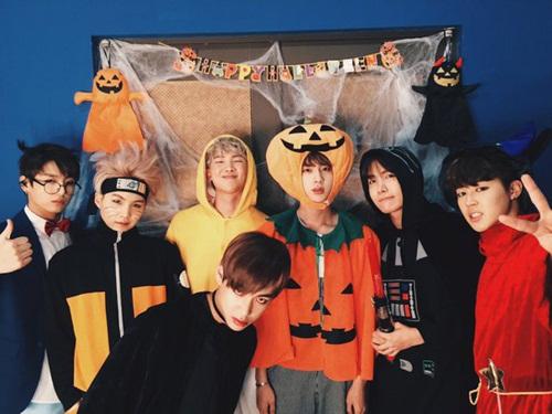 Những kiểu hóa trang Halloween của sao Hàn 21