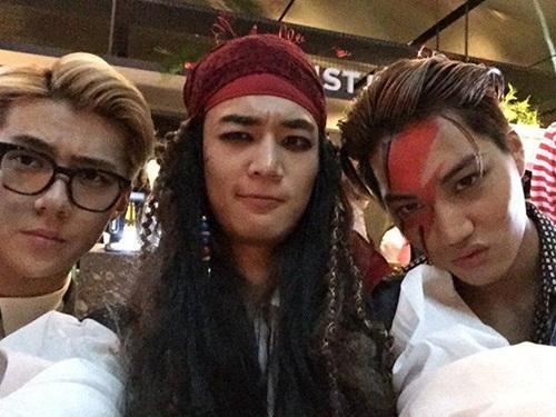 Những kiểu hóa trang Halloween của sao Hàn 14