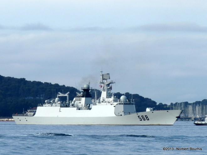 Hạm đội Trung Quốc tập trận tấn công trên Biển Đông 3