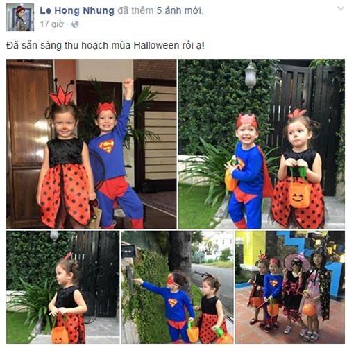 Facebook sao Việt: Bằng Kiều ôm Dương Mỹ Linh đầy tình cảm 3