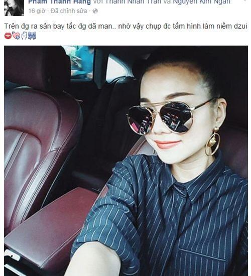 Facebook sao Việt: Bằng Kiều ôm Dương Mỹ Linh đầy tình cảm 8