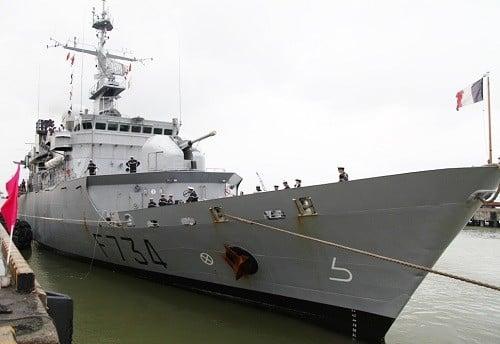 Tuần dương hạm của Pháp sẽ đến Đà Nẵng 1