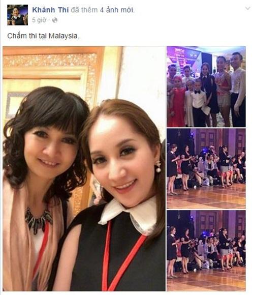 Facebook sao Việt: Ngọc Trinh lặng lẽ, suy tư viếng mộ mẹ 11