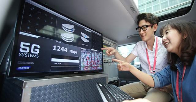 Hàn Quốc: Mạng 5G tải phim chỉ mất 1 giây 2