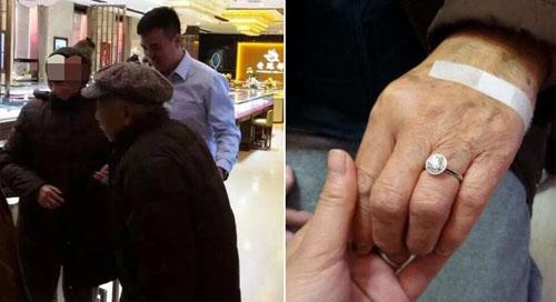 Cụ ông 88 tuổi chi gần 200 triệu mua nhẫn kim cương tặng vợ 1