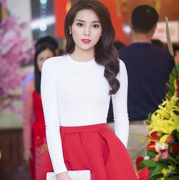 Hoa hậu Kỳ Duyên kín đáo đi sự kiện 2