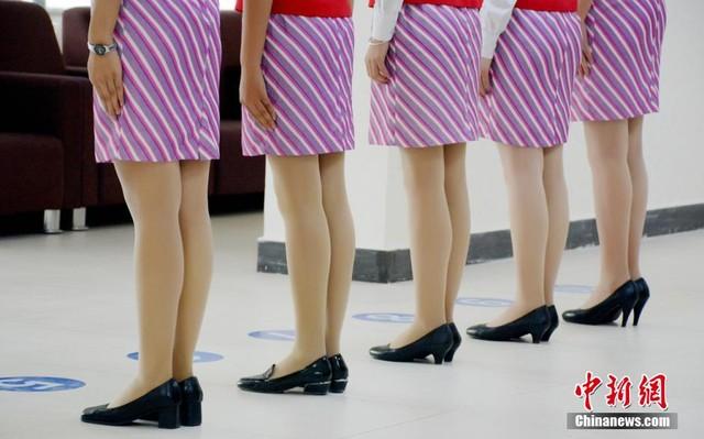 Cận cảnh buổi thi tuyển tiếp viên hàng không ở Trung Quốc 6