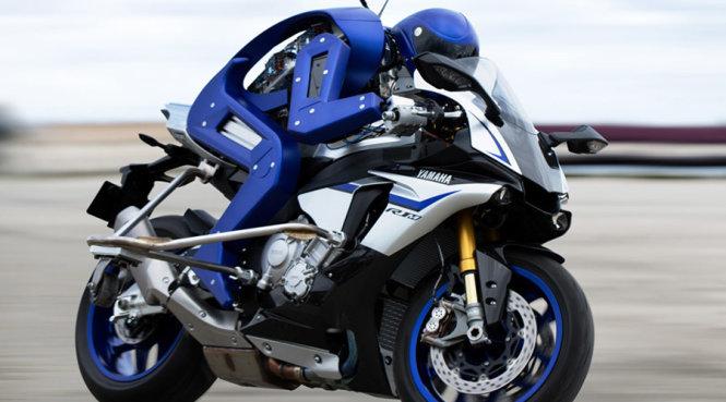 Chiêm ngưỡng robot lái môtô nhanh nhất thế giới 1