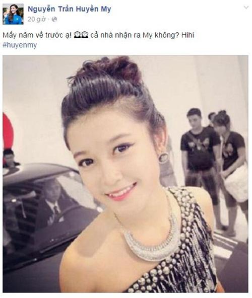 Facebook sao Việt: Tự Long khoe con gái giống hệt bố 5