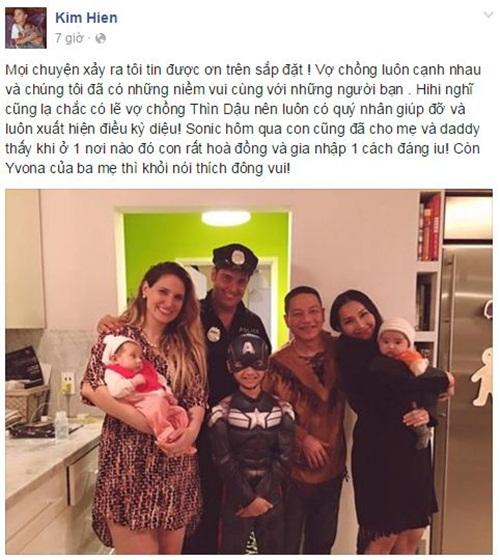 Facebook sao Việt: Tự Long khoe con gái giống hệt bố 11
