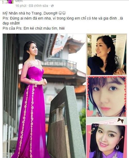 Facebook sao Việt: Tự Long khoe con gái giống hệt bố 12