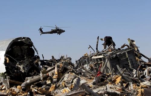 Những tiết lộ ban đầu từ hộp đen máy bay Nga rơi ở Ai Cập 3