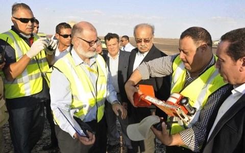 Những tiết lộ ban đầu từ hộp đen máy bay Nga rơi ở Ai Cập 1