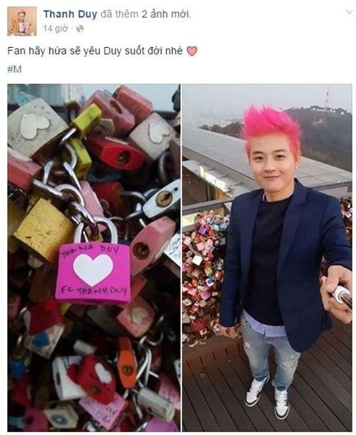 Facebook sao Việt: Tự Long khoe con gái giống hệt bố 17