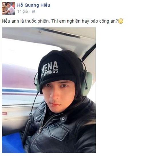 Facebook sao Việt:  Phan Hiển ôm Kubi tạo dáng chụp ảnh 10