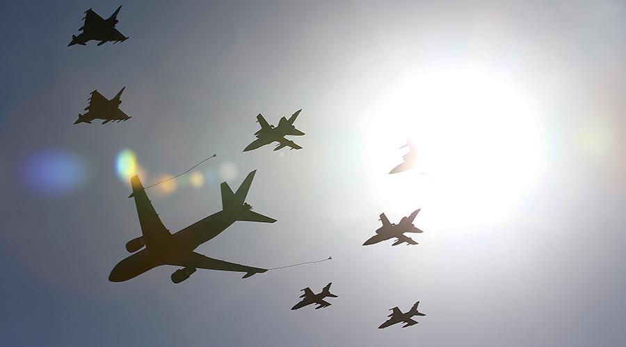 Không quân Nga, Mỹ tập trận chung tại Syria 1