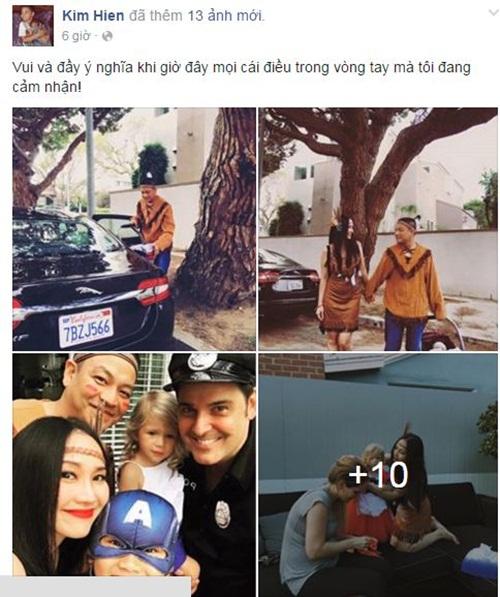 Facebook sao Việt:  Phan Hiển ôm Kubi tạo dáng chụp ảnh 8