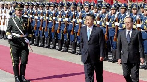 Mùa ngoại giao Trung Quốc 1
