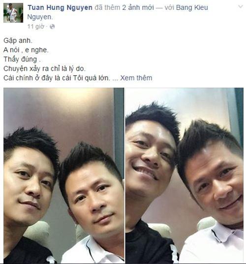 Facebook sao Việt:  Phan Hiển ôm Kubi tạo dáng chụp ảnh 12