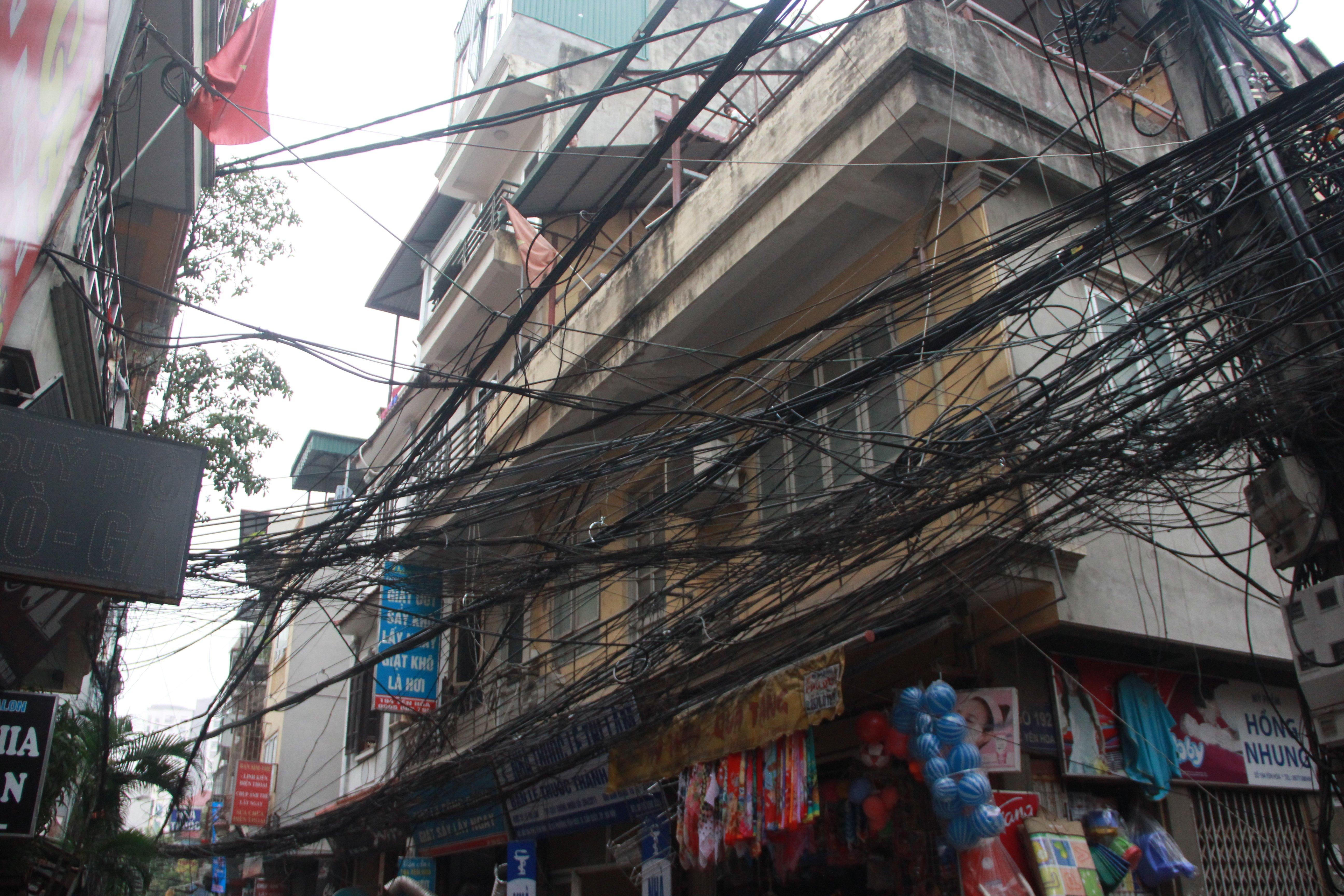 Hình ảnh Cận cảnh dọn ổ mạng nhện khổng lồ ở Hà Nội số 8