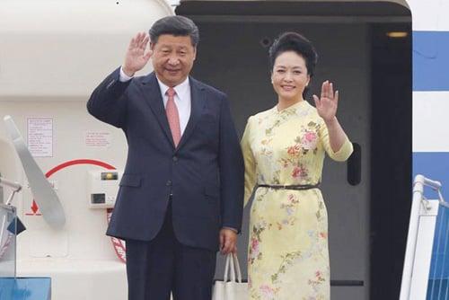Hình ảnh Chủ tịch Trung Quốc Tập Cận Bình bắt đầu chuyến thăm Việt Nam số 1