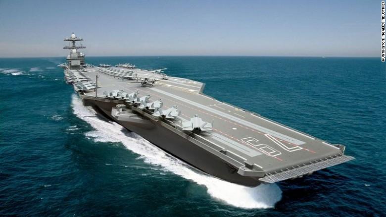 Hạm đội tàu sân bay trứ danh của Mỹ sắp hết thời 1