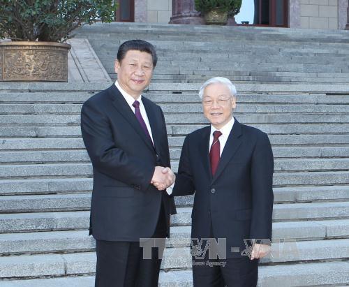 Hôm nay, Chủ tịch Trung Quốc Tập Cận Bình đến Việt Nam 1