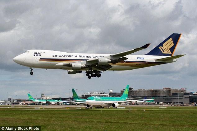 Máy bay hạ cánh khẩn cấp vì hơn 2.000 con dê