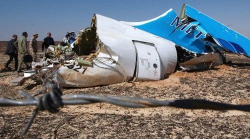 Hình ảnh Tình báo Mỹ: Máy bay Nga bị IS cài bom số 1