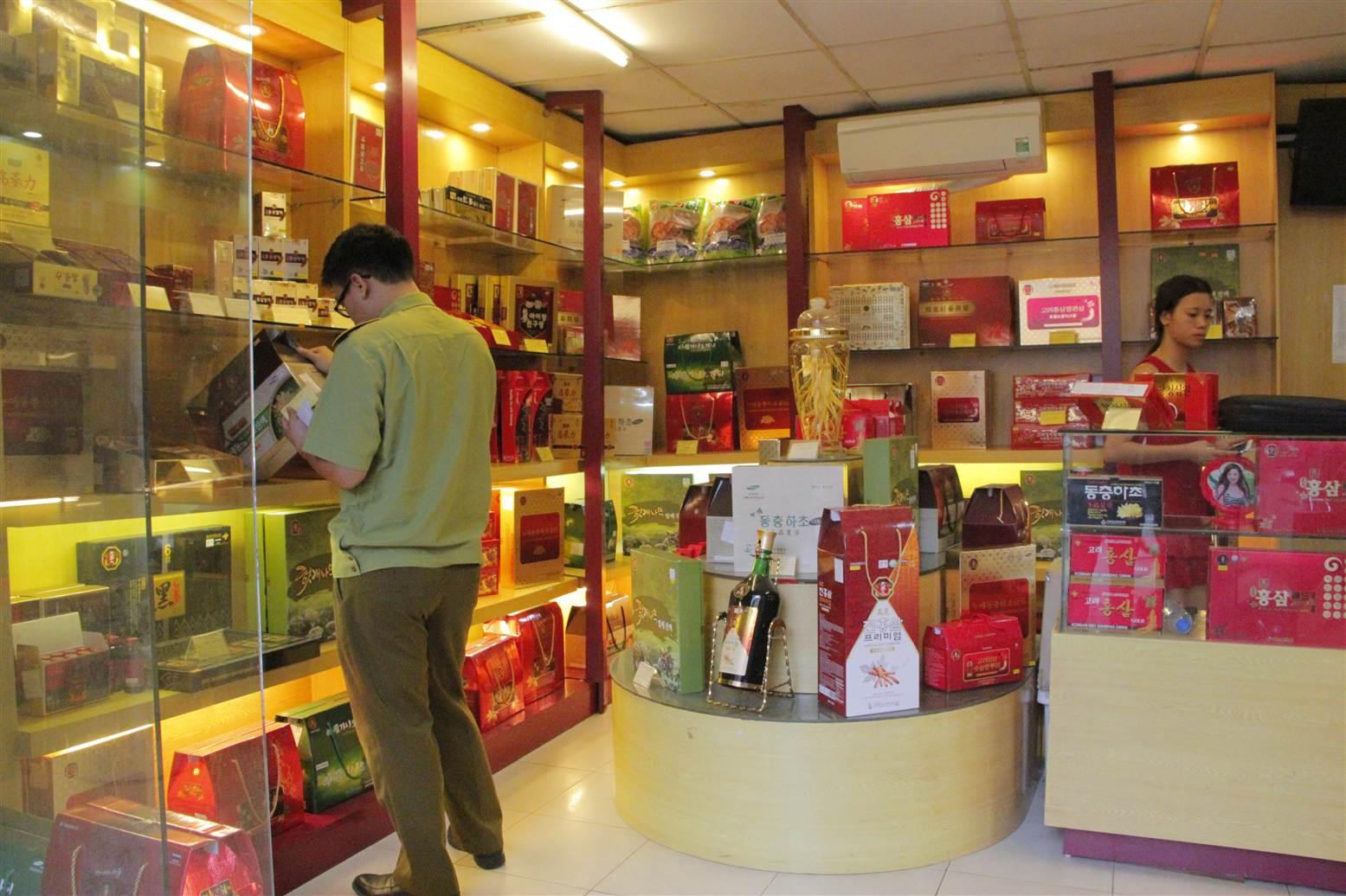 Hình ảnh Hà Nội: Thu giữ nhiều thực phẩm chức năng lậu số 2