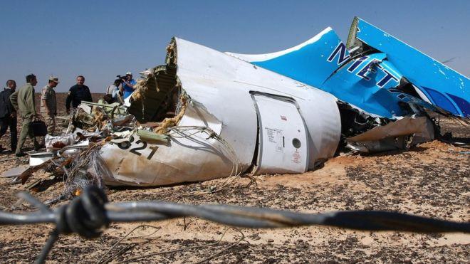 Hình ảnh Anh nghi bom cài trong khoang hành lý của máy bay Nga bị rơi số 1