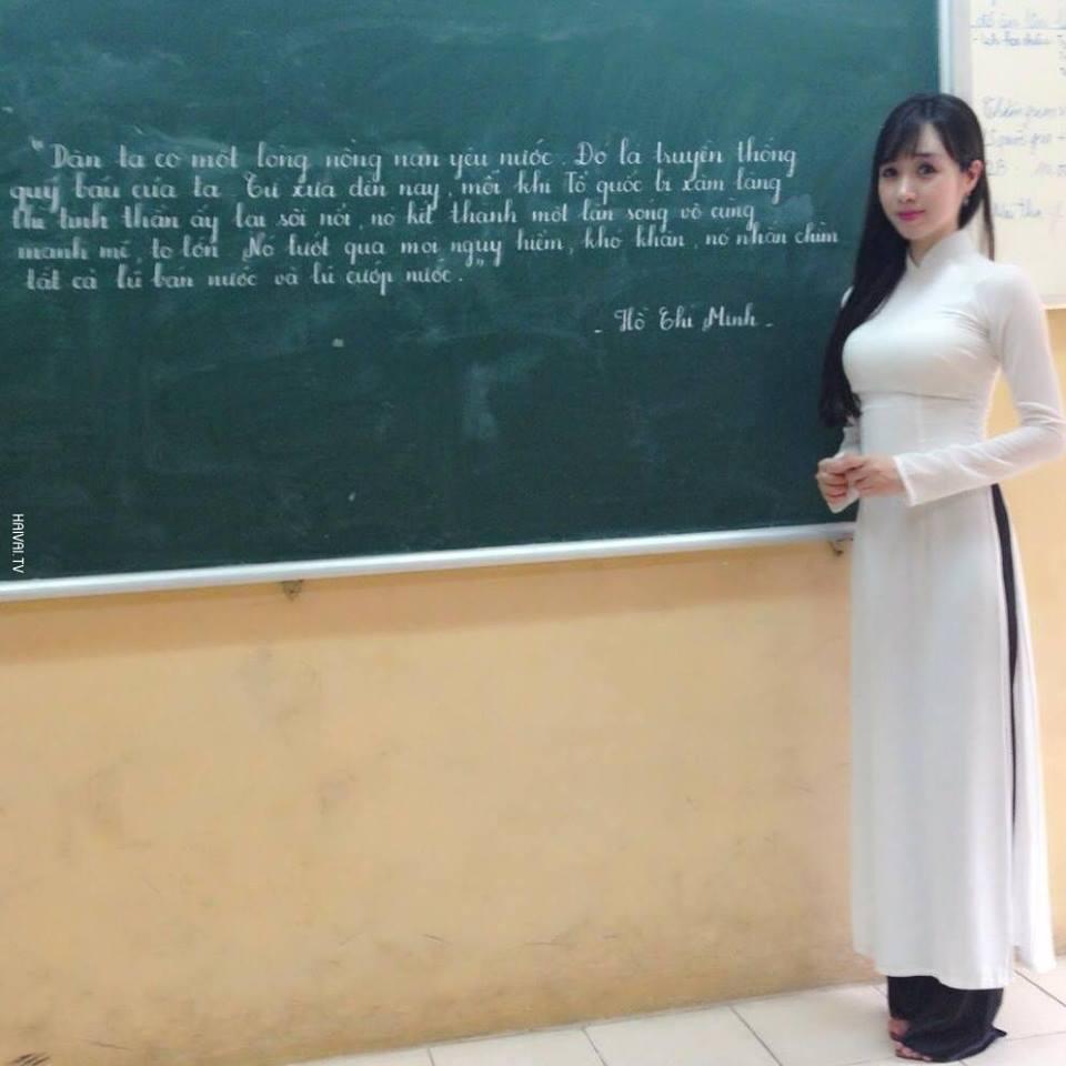 Những cô giáo xinh như hotgirl hút nghìn lượt thích trên Facebook 2