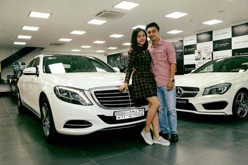 Vân Trang cùng bạn trai Việt kiều