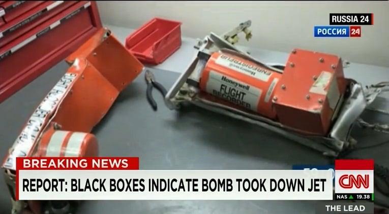Dữ liệu hộp đen máy bay Nga tiết lộ: Đây không phải tai nạn! 1