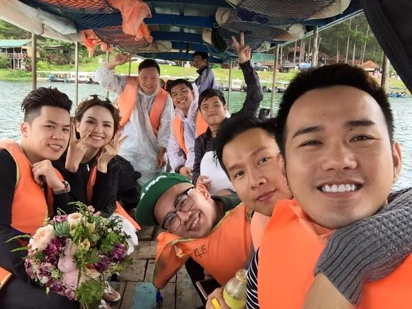 Hậu trường ảnh cưới của Hoa hậu Diễm Hương  1