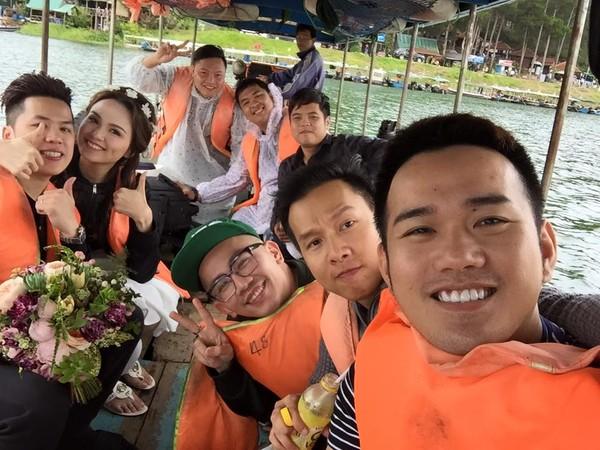 Hậu trường ảnh cưới của Hoa hậu Diễm Hương  2