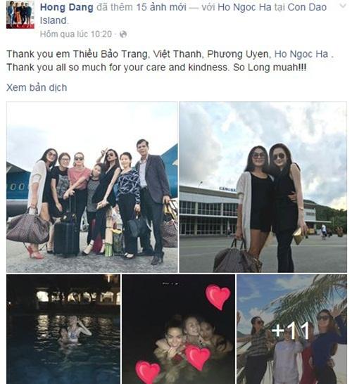 Facebook sao Việt: Ngọc Thúy 'khẩu chiến' với Trang Trần 8
