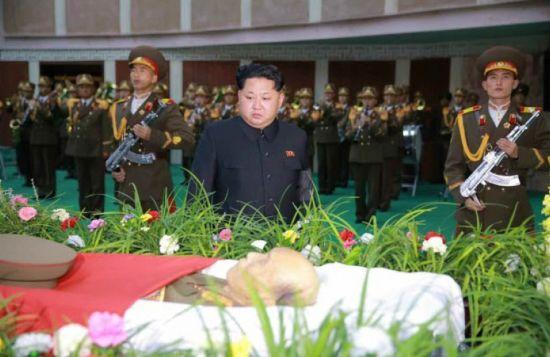 Lãnh đạo Kim Jong-un viếng nguyên soái Triều Tiên 3