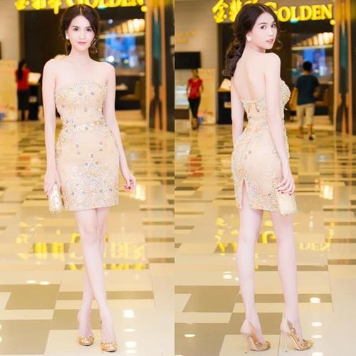 Sao Việt đẹp tuần qua: Thanh Hằng, Hà Anh quyến rũ với sắc đỏ rực rỡ 5