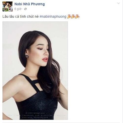 Facebook sao Việt:  Nhã Phương nóng bỏng, sắc sảo trong shoot hình mới 1