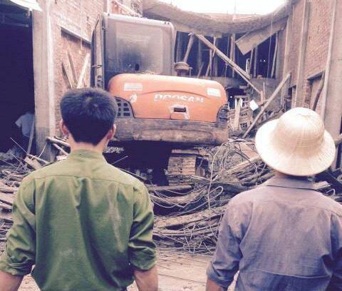 Sập công trình gần Chùa Hương, 6 người thương vong 1