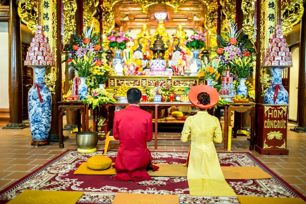 Hình ảnh Bộ ảnh cưới ở nghĩa trang của cặp đôi Hà Nội yêu và kết hôn trong 7 ngày số 5