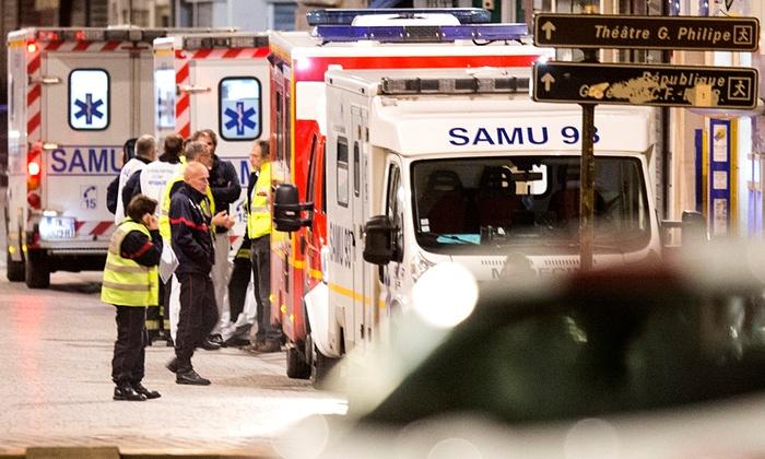 Hình ảnh (Cập nhật) Đang đấu súng truy bắt kẻ chủ mưu khủng bố Paris - tóm gọn nhóm khủng bố số 3
