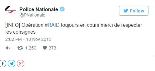 Hình ảnh (Cập nhật) Đang đấu súng truy bắt kẻ chủ mưu khủng bố Paris - tóm gọn nhóm khủng bố số 2