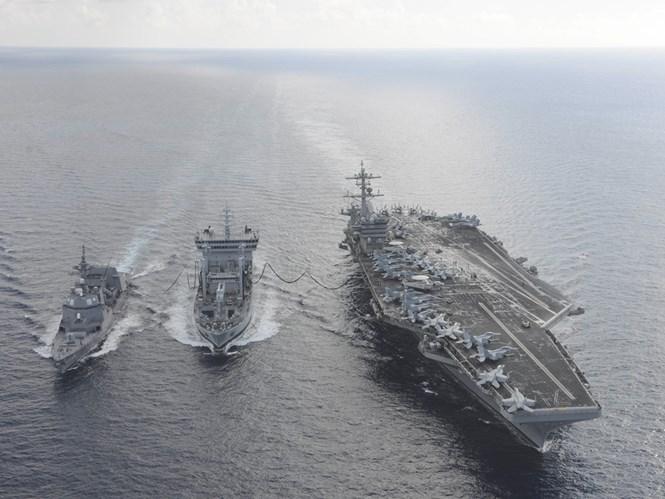 Nhật tính tuần tra Biển Đông, Trung Quốc nổi đóa 1