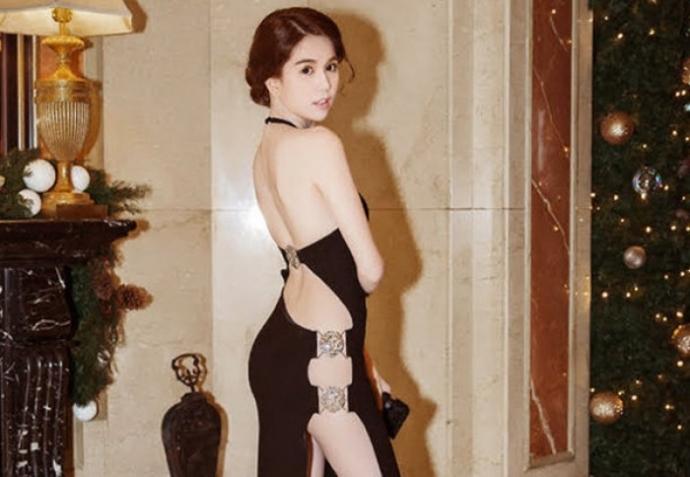 """Ngọc Trinh mặc váy """"hở bạo"""" ở Hàn Quốc: Không thể xử phạt Ngọc Trinh 2"""
