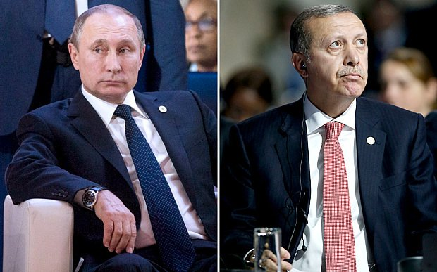 Ông Putin quyết không gặp Tổng thống Thổ Nhĩ Kỳ sau vụ bắn hạ máy bay 1