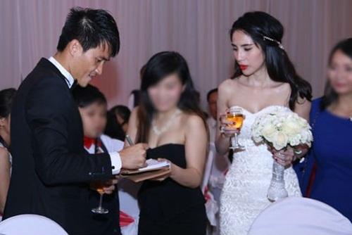 Sao Việt dở khóc dở cười vì đám cưới gặp sự cố 4